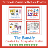Colors Errorless Learning Bundle with Real Photo