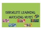 Errorless Learning Matching Notes