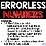 Errorless Learning - Numbers 1 - 10