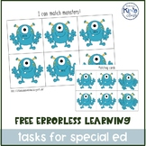 Errorless Learning Task Box / Independent Work for Autism