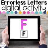 Errorless Letters - Digital Activity - Distance Learning f