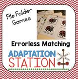 Errorless Matching File Folders