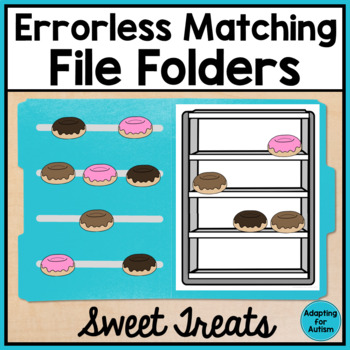 Errorless Matching File Folder Activities (Autism & Special Education)