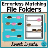 Errorless Matching File Folder Activities for Special Education and Autism