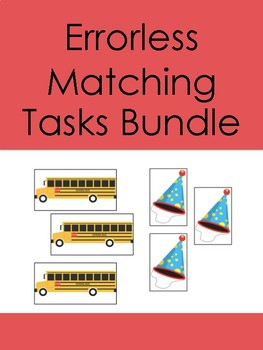 Errorless Matching Tasks Bundle