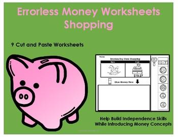 Errorless Money Skills Shopping