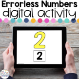 Errorless Numbers - Digital Activity - Distance Learning f