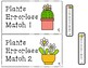Errorless Plant Match File Folders