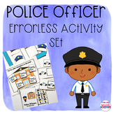 Police Officer Errorless Activity Set