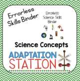 Errorless Science Skills Binder