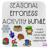 Errorless Seasonal/Holiday Activities GROWING Bundle