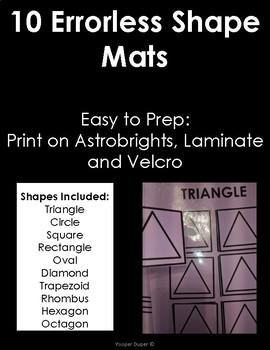Errorless Shape Mats
