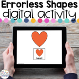 Errorless Shapes - Digital Activity - Distance Learning fo