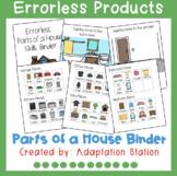 Errorless Skills Binder: Parts of a House