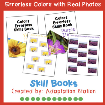 Errorless Skills Books: Colors with Real Photos (Growing Product)