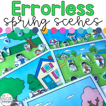Errorless Spring Scenes for Special Education