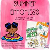 Errorless Summer Interactive Book and Activity Set