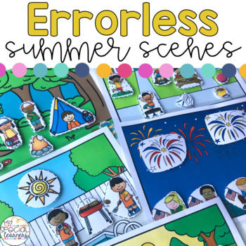 Errorless Summer Scenes for Special Education