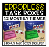 Errorless Task Boxes (12 Months + 3 Bonus)