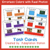 Errorless Task Cards: Real Photos with Task Cards