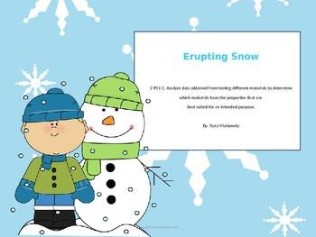 Erupting Snow Science Experiment