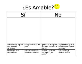 Es Amable?