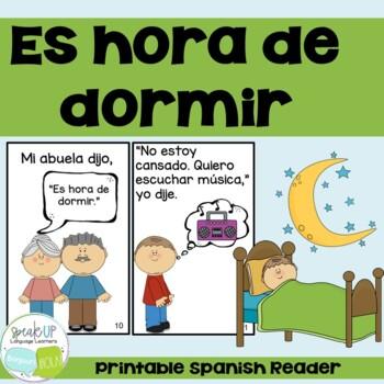 Es hora de dormir ~ Spanish Verbs Reader {en español}