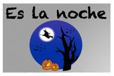 Es la noche (Spanish Halloween Song)