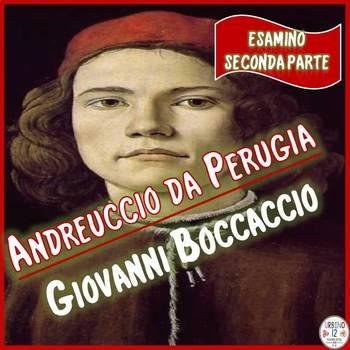 Esamino  Andreuccio da Perugia (Seconda Parte)