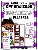 Centros de aprendizaje de sílabas - Escaleras de palabras