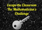 Escape the Classroom: The Mathematician's Challenge
