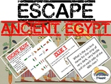 Escape Ancient Egypt Review Task Card Game Activity
