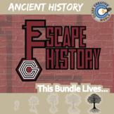 Escape Ancient History -- Escape the Room Social Studies Games