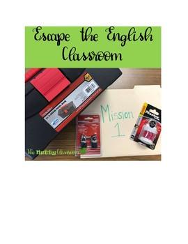 Escape Classroom- Blind to Failure- English