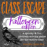 Class Escape: Halloween Edition