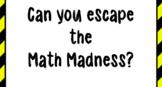 Escape Classroom- Math 5th Grade VA SOL Review