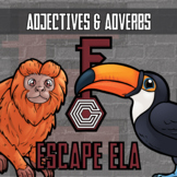Escape - Adjectives & Adverbs (Rainforest Theme) - Distance Learning Compatible