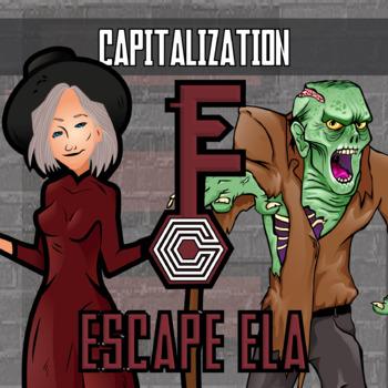 Escape ELA - Capitalization - Escape the Room Style Activity
