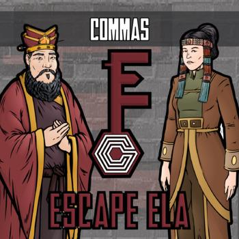 Escape ELA - Commas - Escape the Room Style Activity