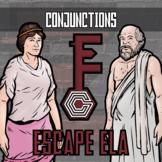 Escape ELA - Conjunctions - Escape the Room Style Activity
