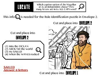 Escape ELA - Independent & Dependent Clauses - Escape the Room Style Activity