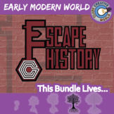 Escape Early Modern World History -- Escape the Room Social Studies Games