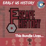 Escape Early U.S. History -- Escape the Room Social Studies Games
