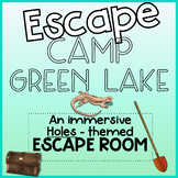 Escape From Camp Green Lake! - Holes Novel Activity