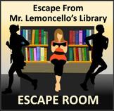 Escape From Mr. Lemoncello's Library: Escape Room