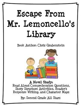 Escape From Mr. Lemoncello's Library Novel Study