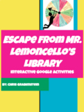 Escape From Mr. Lemoncello's Library Novel Study: Interactive Google Activities!