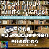 Escape From Mr. Lemoncello's Library Read Aloud Write Along