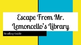 Escape From Mr. Lemoncello's Library Reading Guide