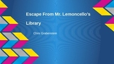 Escape From Mr. Lemoncello's Library Book Study PowerPoint